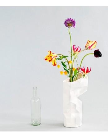 Pepe Heykoop - Paper Vase Cover - dutch design - wit