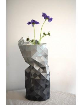 Pepe Heykoop - Paper Vase Cover - dutch design - grijs
