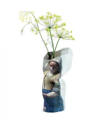 Pepe Heykoop - Paper Vase Cover -  Vermeer Melkmeisje