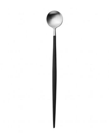 Cutipol Goa bestek zwart mat  - longdrink lepel