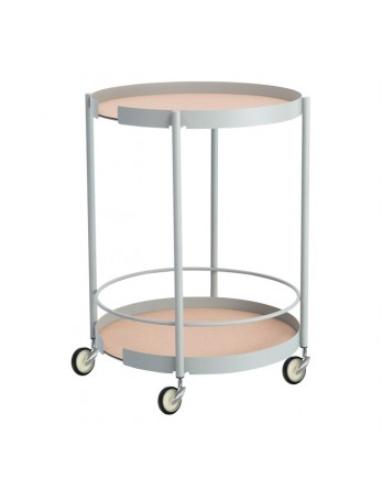 DesignBite Big Hug trolley / bijzettafel grijs