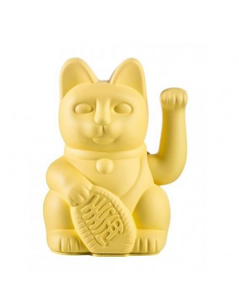 Donkey Products Lucky Cat Geluksbrenger - geel