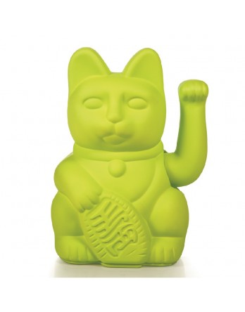 Donkey Products Lucky Cat Geluksbrenger - neon groen