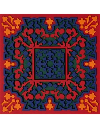 Images Oriënt coaster Vagabonde Bouquet Velours