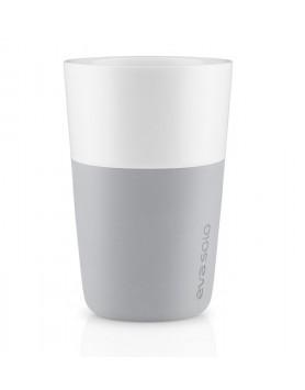 Eva Solo Café Latte mok 360ml - lichtgrijs - set 2 st
