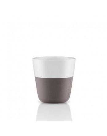 Eva Solo espresso mok 80ml - grijs - set 2 st