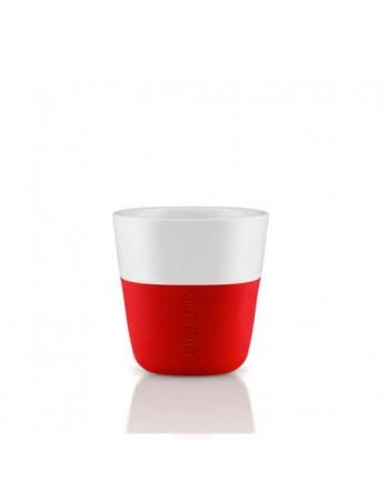 Eva Solo espresso mok 80ml - rood - set 2 stuks