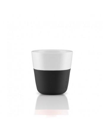 Eva Solo espresso mok 80ml - zwart - set 2 stuks