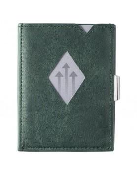 Exentri Wallet / leren portemonnee emerald groen