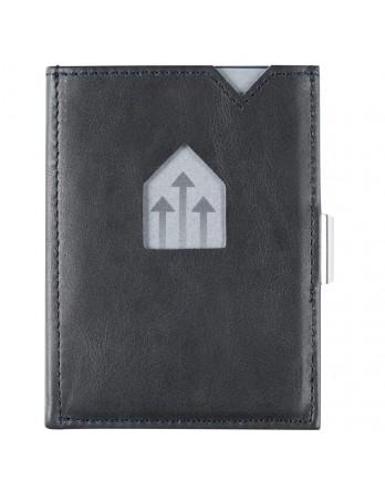 Exentri Wallet / leren portemonnee RFID - blauw