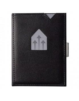 Exentri Wallet / leren portemonnee RFID zwart