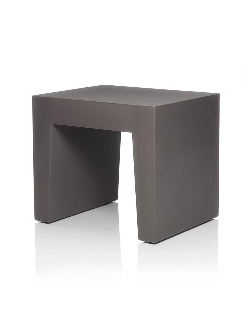 Fatboy concrete tafel kruk taupe - Concrete effect tafel ...
