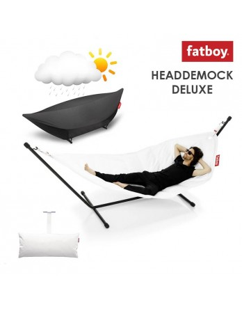 Fatboy Headdemock deluxe + pillow + cover - wit
