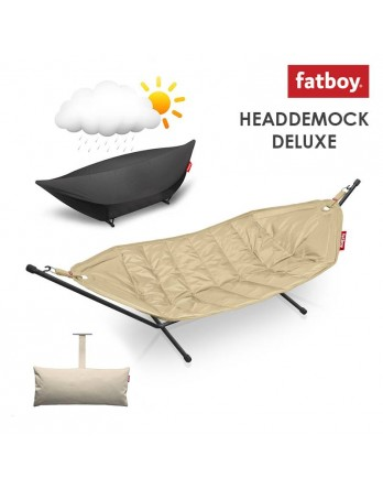 Fatboy Headdemock deluxe + pillow + cover - zand