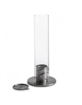 Höfats Spin 90 sfeer lantaarn zilver H.40cm