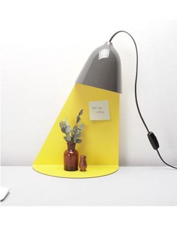 Ilsangisang Light Shelf wandlamp met tafel - grijs