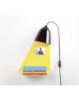Ilsangisang Light Shelf wandlamp met tafel - zwart