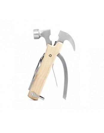 Kikkerland Wood Multi Tool Hammer