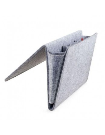Kikkerland Felt Bedside Caddy pocket Large