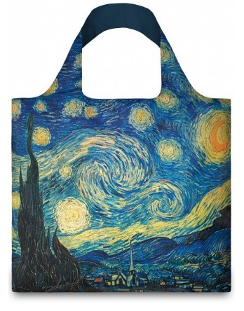 LOQI vouwtas Museum | Starry Night