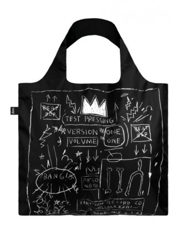 LOQI  vouwtas Museum | Basquiat - Crown