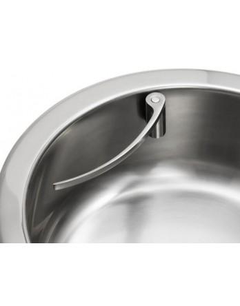 Happy Sinks magnetische vaatdoekhouder RVS rond