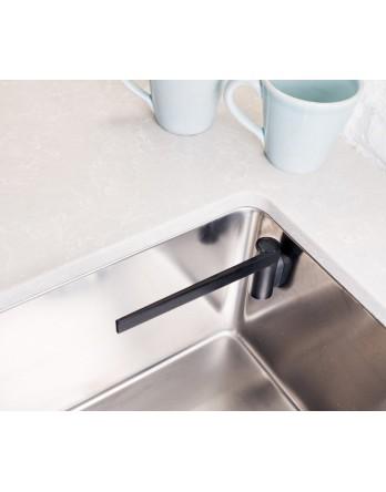 Happy Sinks magnetische vaatdoekhouder recht zwart