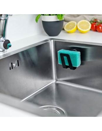 Happy Sinks - magnetische sponshouder bio zwart