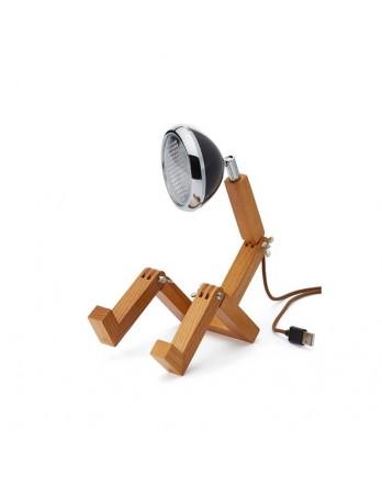 Mr Wattson mini tafellamp USB designlamp LED zwart
