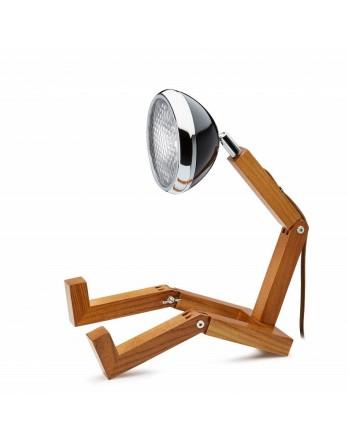 Mr Wattson tafellamp retro designlamp LED zwart