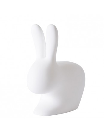 Qeeboo Rabbit Chair baby 53cm stoel - wit