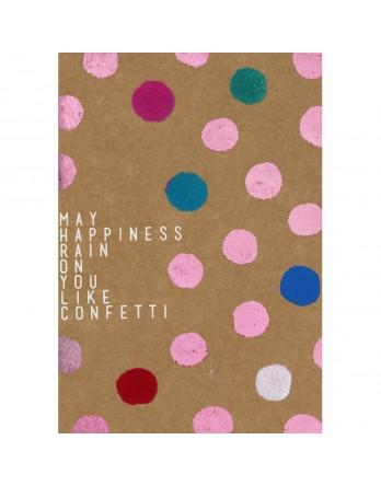 Räder wenskaart / kaart - happiness