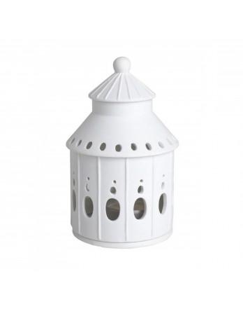 Räder theelicht / lichthuis kasteeltoren H.13
