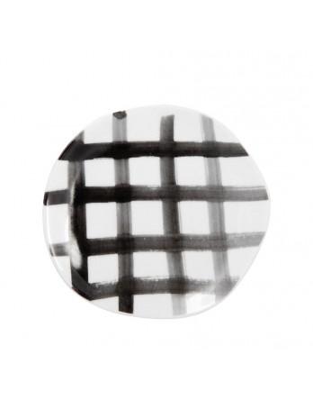 Räder Mix & Match servies bord karos 14cm zwart