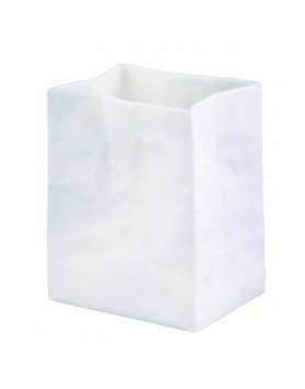 Räder vaas papieren zak - porselein wit