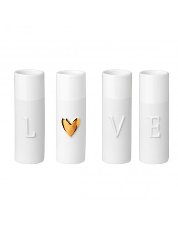 Räder design love mini vaas set