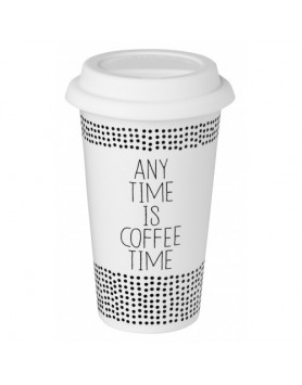 Räder thermo travel mok - any time is coffee time