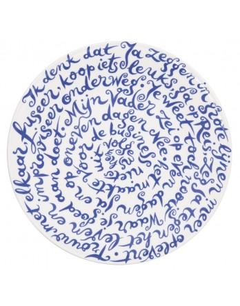 Royal Delft - Diskus bord Huwelijk - Ja