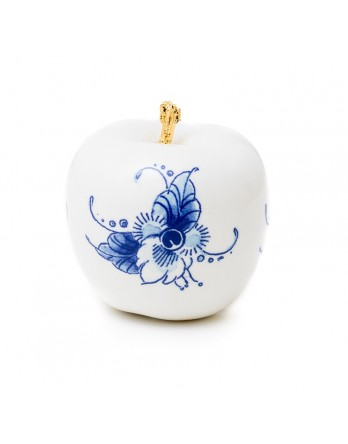 Royal Blue Collection Touch of Gold Fleur 6cm