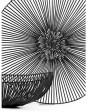 Serax Meo schaal ovaal ijzer zwart H.14cm