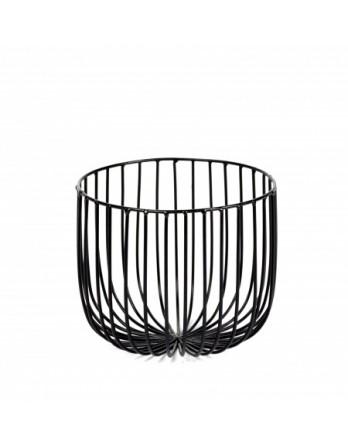 Serax Catu citrusmand ø 18 cm h.15 ijzer zwart
