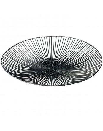 Serax Edo platte schaal ø 50 cm h 7 cm ijzer zwart