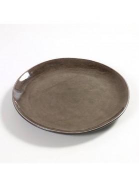 Serax Pure servies - Naessens - bord grijs 20.5