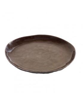 Serax Pure servies - Naessens - bord grijs 28cm