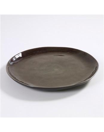 Serax Pure servies - Naessens serveerschaal grijs