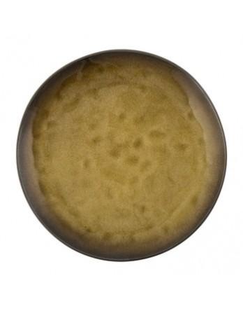 Serax Pure servies - Naessens - bord rond groen 20.5