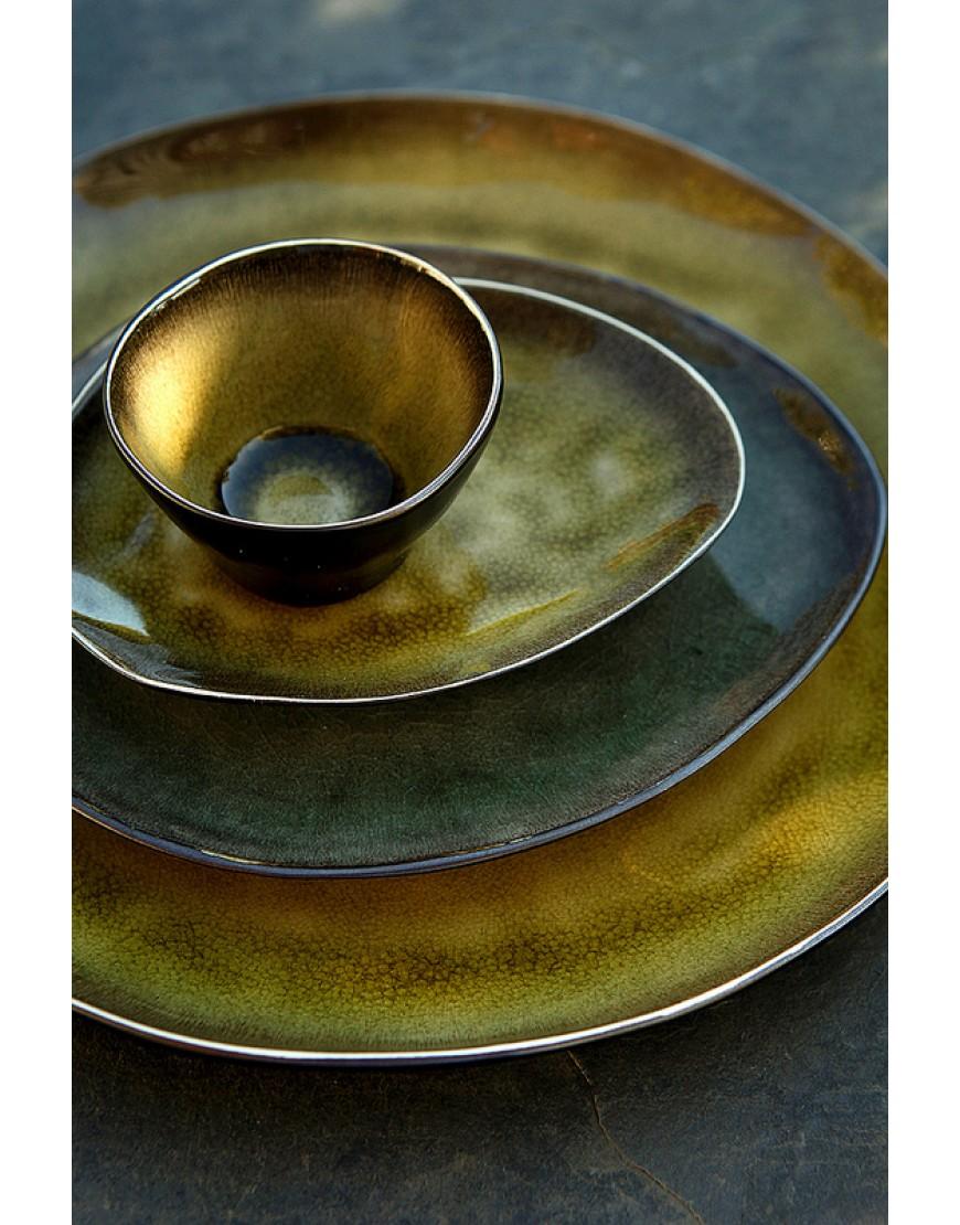 Serax Pure servies   Naessens   bord groen 20.20