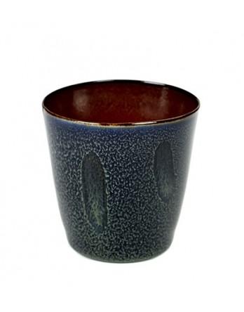 Serax servies Terres de Rêves - beker conisch donkerblauw