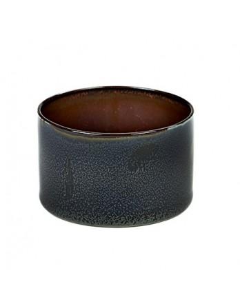 Serax servies Terres de Rêves - beker cylinder - donkerblauw / roest