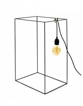 Serax Carre Lamp vloerlamp - zwart - Hans Zwart